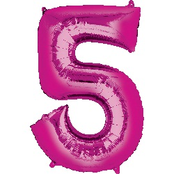 pink-foil-balloon--number-5