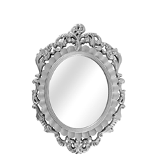 crested-ornate-oval-silver-frame