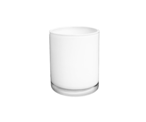 white-glass-candle-holder