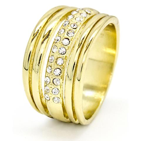 gold-tone-multi-band-ring-with-clear-crystals-encrusted-in-centre-band